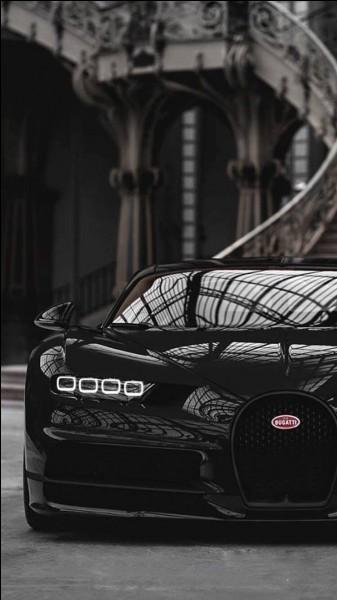 Cristiano Ronaldo possède une Bugatti Chiron