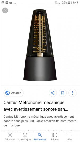A quoi sert un métronome ?