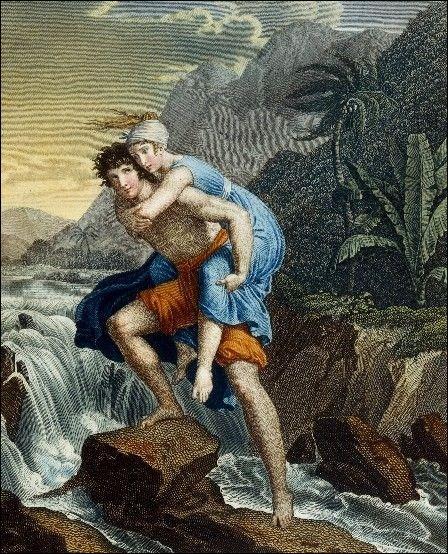 Dans le roman de Bernardin de Saint-Pierre, Paul est amoureux de ...