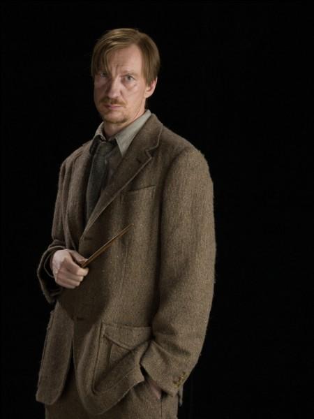 Qui est Remus Lupin ?