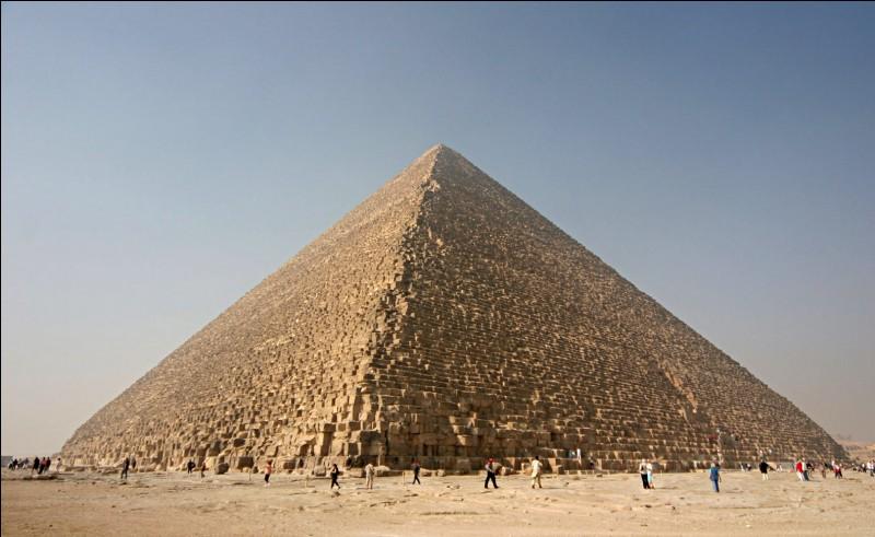 Quelle est la taille de la pyramide de Gizeh ?