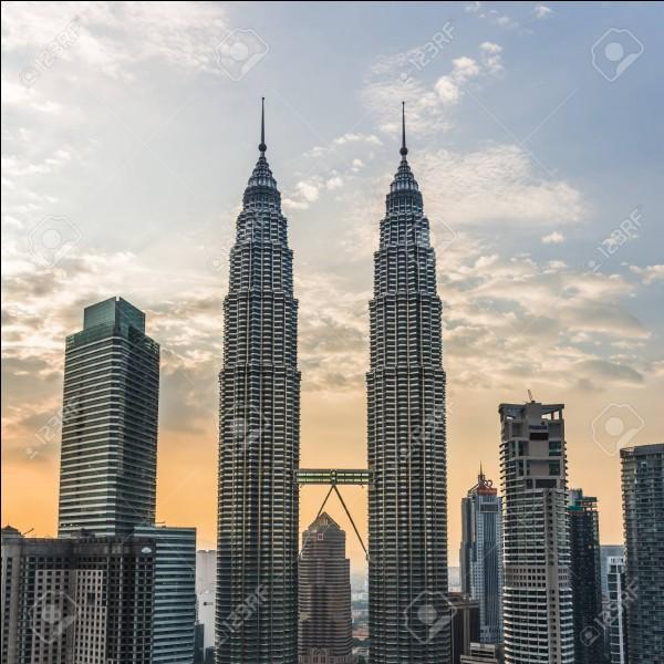 Quelle est la taille des tours jumelles de Petronas ?