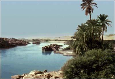 Dans quelle mer se jette le Nil ?