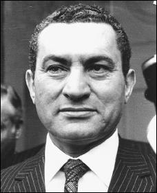 Qui est le chef de l'Etat égyptien depuis 1981 ?