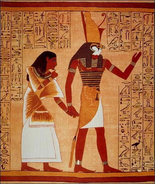 Quel animal symbolise le dieu Horus ?