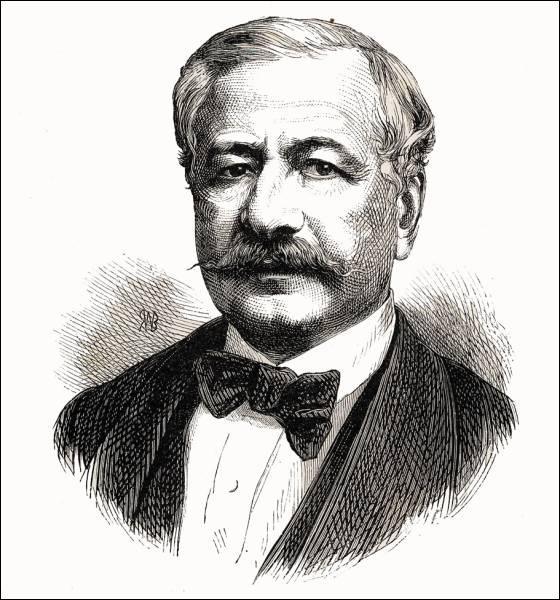 Quel ingénieur français a dirigé la construction du Canal de Suez ?