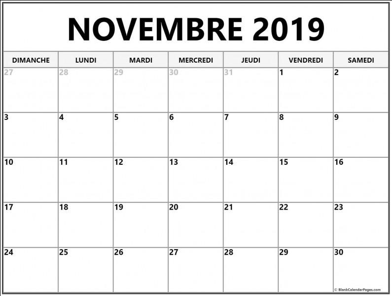 De quel événement allons-nous fêter le 30 e anniversaire en novembre 2019 ?