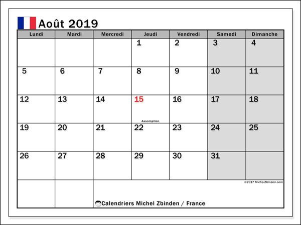 De quel événement allons-nous fêter le 20 ème anniversaire en août 2019 ?