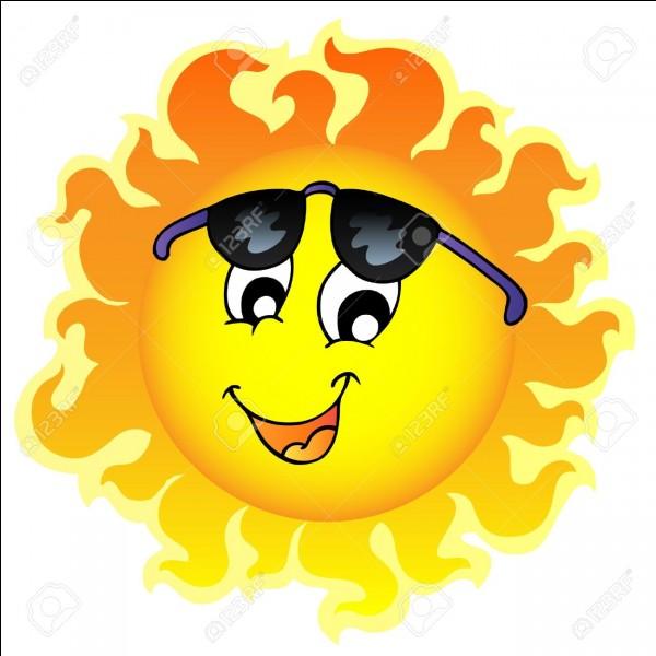 On finit avec le soleil ! Je vous le demande en anglais et en espagnol !