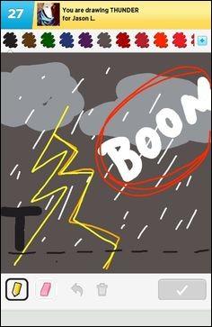 """En anglais c'est """"thunder"""", comment dit-on en espagnol ?"""