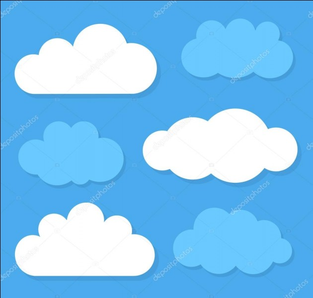 """En espagnol, le mot est """"nube"""", et en anglais ?"""
