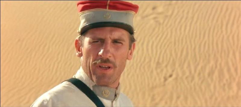 Dans quel film peut-on voir Florent Pagny ainsi ?