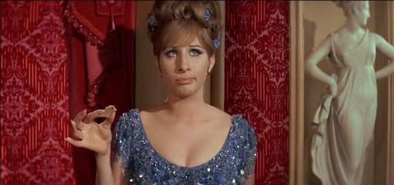 Dans quel film peut-on voir Barbra Streisand ainsi ?