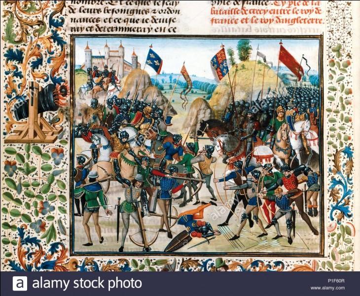 Philippe VI ne se révèle pas être un grand stratège, ou il n'a pas de chance. Les campagnes d'Aquitaine et de Normandie sont désastreuses, même les Écossais ouvrant un 2e front au nord de l'Angleterre sont vaincus. Le 26 août 1346, les armées française et anglaise se rencontrent à Crécy. Que se passe-t-il ?