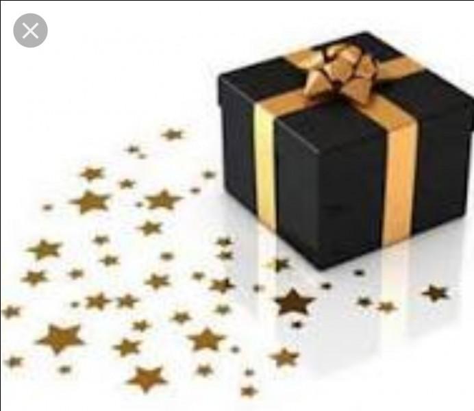 Si on vous offre un cadeau, avant de l'ouvrir, vous espérez...