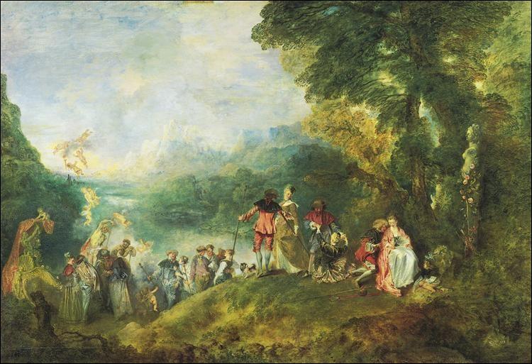 Comment se prénommait Watteau ?