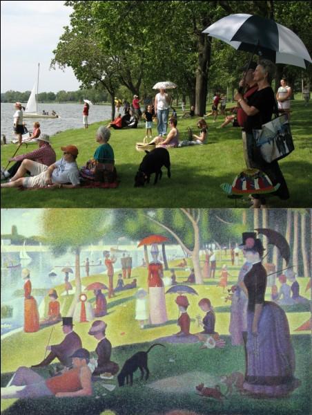 Le prénom du peintre Seurat est...