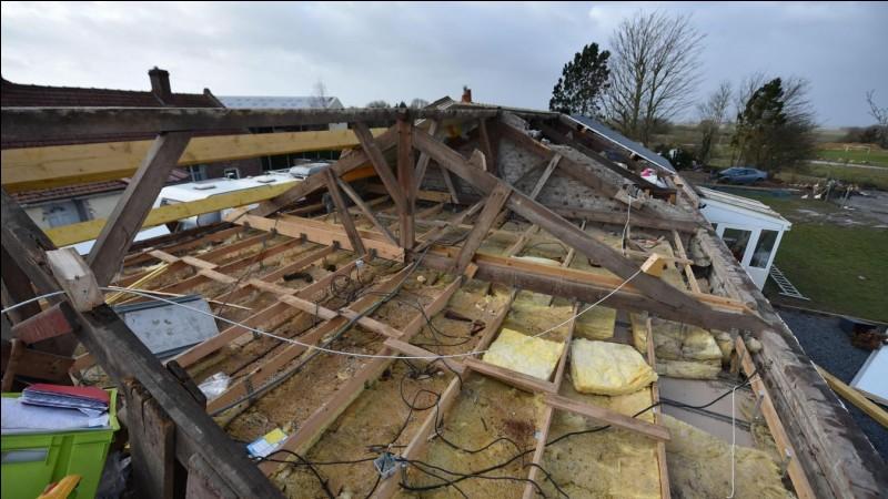 Janvier : Quelle tempête a fait 7 morts lors de son passage en France ?
