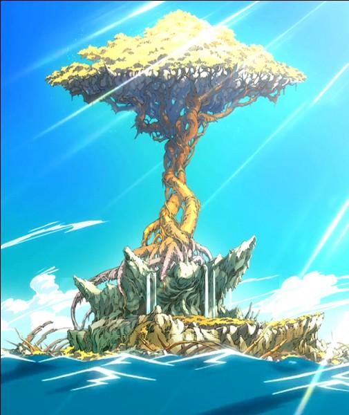 Qui a re-enraciné l'arbre de l'île de Tenrô ?