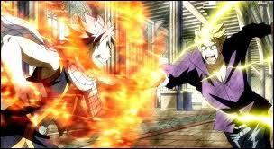 Durant la bataille de Fairy Tail, contre qui Nab se bat-il ?