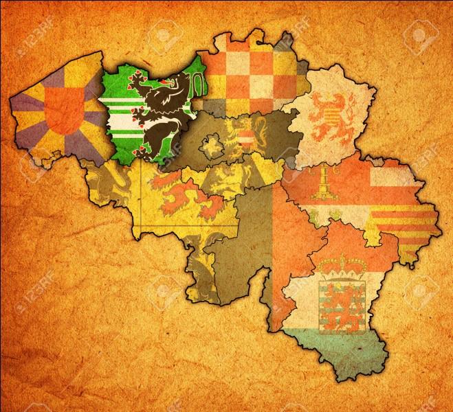 Quel est le chef-lieu de la province de Flandre Orientale ?