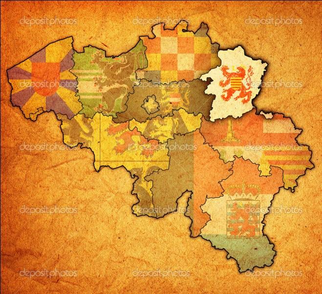 Quel est le chef-lieu de la province de Limbourg ?