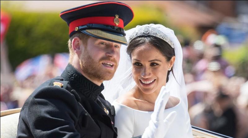 A quelle date eut lieu le mariage entre le prince Harry et Meghan Markle ?