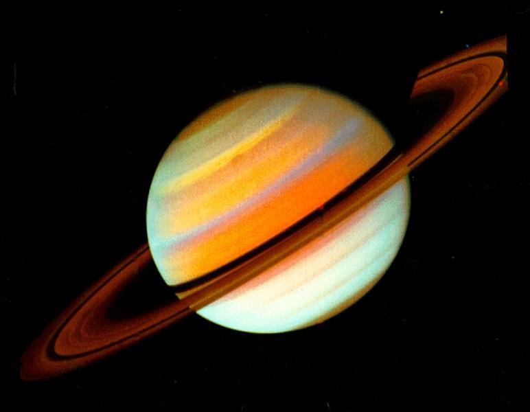 Je suis la planète du Système solaire possédant le plus gros disque (pour être précis, des anneaux planétaires). Qui suis-je ?