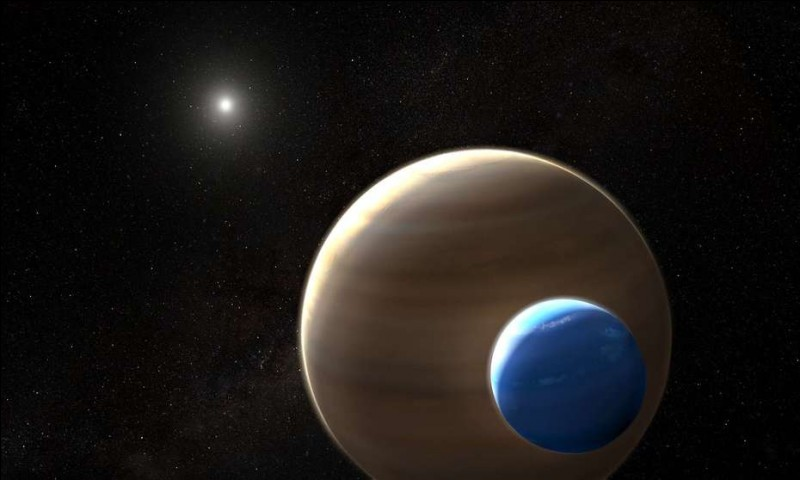 Une exoplanète est une planète située en dehors du système solaire.