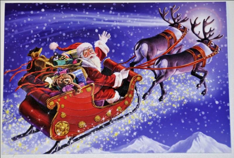 Par quelle entreprise le Père Noël, qui apporte les cadeaux aux enfants, a-t-il été créé ?