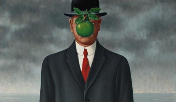 Magritte s'était vraiment appliqué, en 1964. Malheureusement, on a égaré le titre, dont ne subsiste que les dernières lettres : «..... omme ». Quel est le titre complet ?