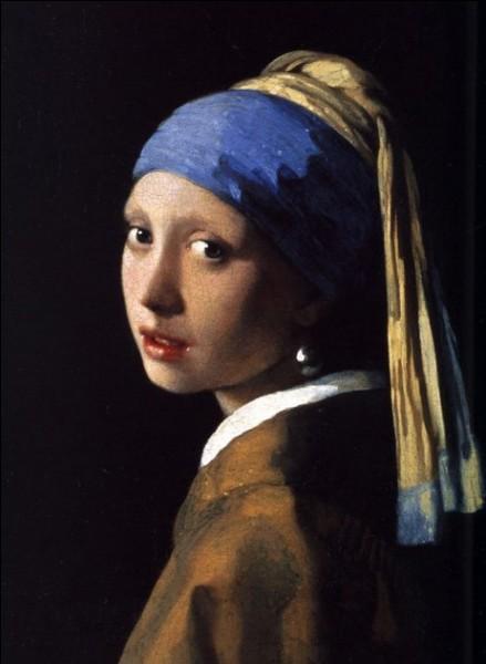 Si on connaît l'auteur - Vermeer de Delft - il ne nous reste, du titre, que le début : « La jeune fille a........ »