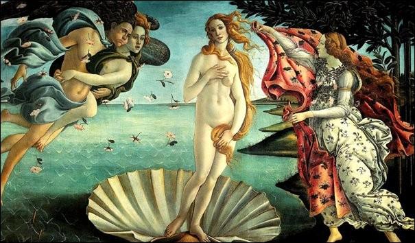 Pour ce tableau de Botticelli, il ne nous reste plus que deux lettres : « ... nu ... » ! Qu'en dites-vous ?