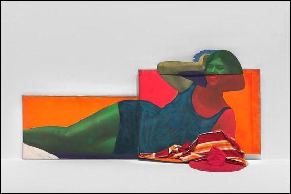 Ce tableau de Martial Raysse, à défaut d'être particulièrement populaire, porte un titre qui lui, l'est : « Soudain.... »