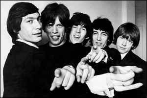 De quelle couleur était le sucre des Rolling Stones ?