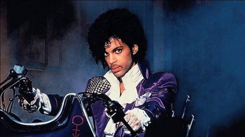 De quelle couleur était la pluie pour Prince ?