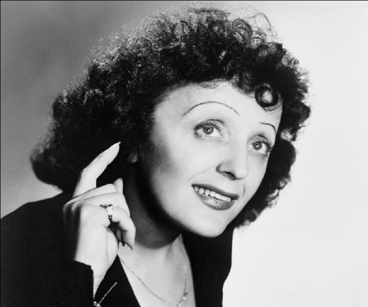 De quelle couleur était la vie pour Édith Piaf ?