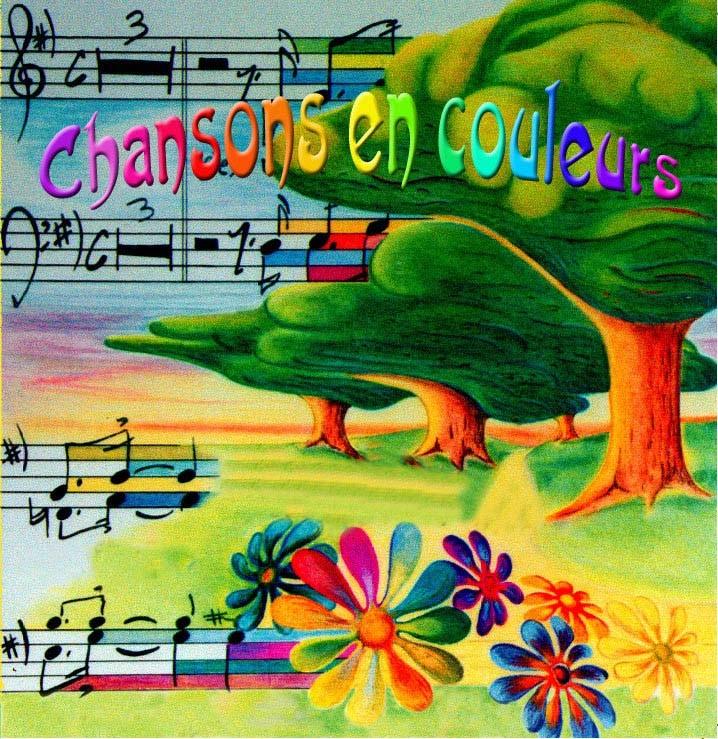 Les couleurs en chanson
