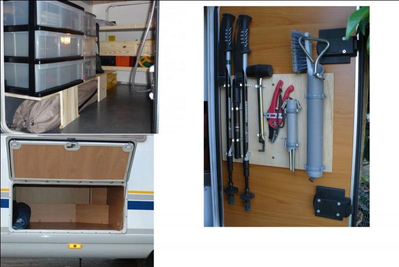 Ce coin du véhicule va vous permettre de ranger divers objets et aussi vos courses. Quel est le nom de ce recoin ?