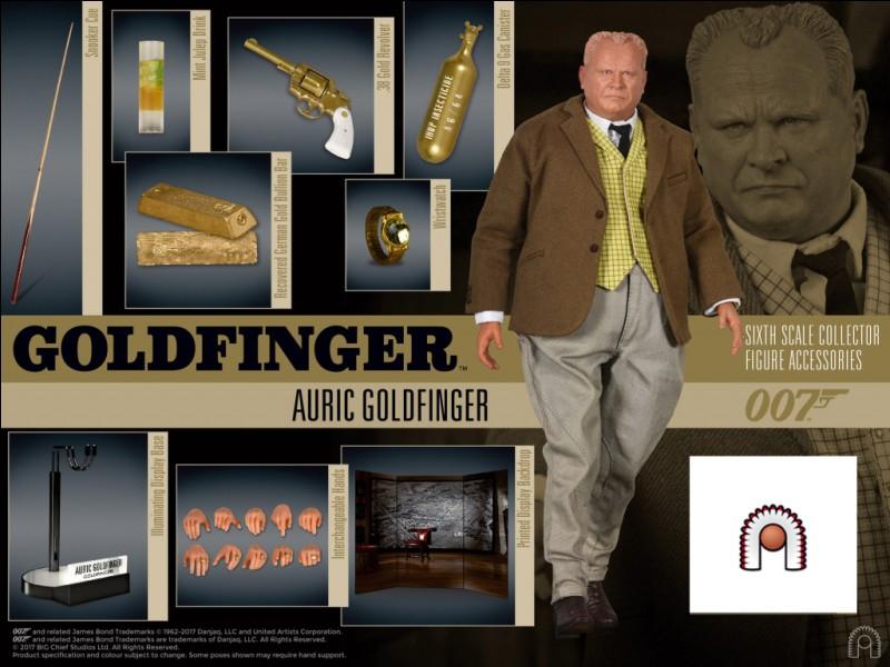 """""""Goldfinger"""" est un film joué par Roger Moore."""