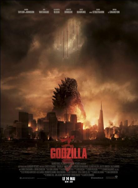 """""""Godzilla"""" est un film réalisé par Gareth Edwards."""