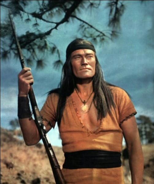 """""""Geronimo"""" est un long-métrage joué par Chuck Connors."""