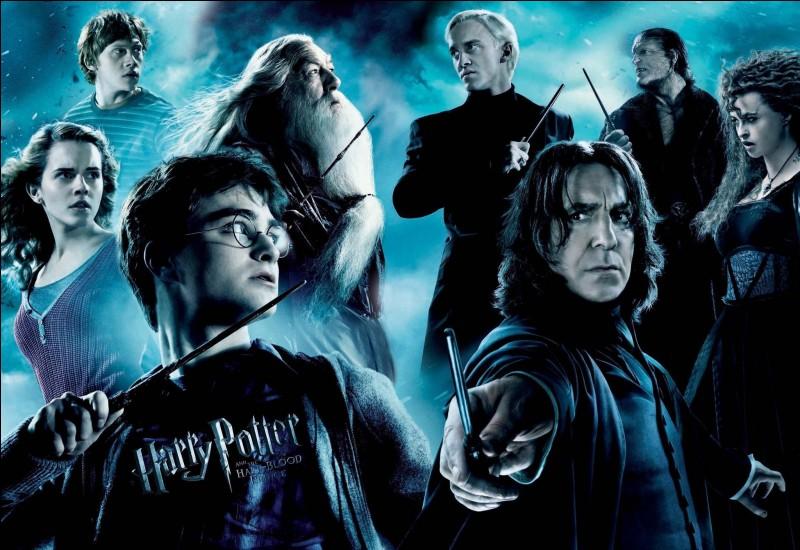 Quelles personnes rentrent à Poudlard pour la première fois quand on voit Hermione, Ron, Ginni et Harry sur la voie 9 3/4 ?