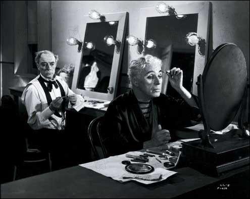 En 1952, dans quel film dirige-t-il Buster Keaton en clown vieillissant ?