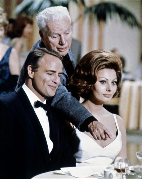 Quel rôle tient-il dans 'La Comtesse de Hong Kong' en 1967 ?