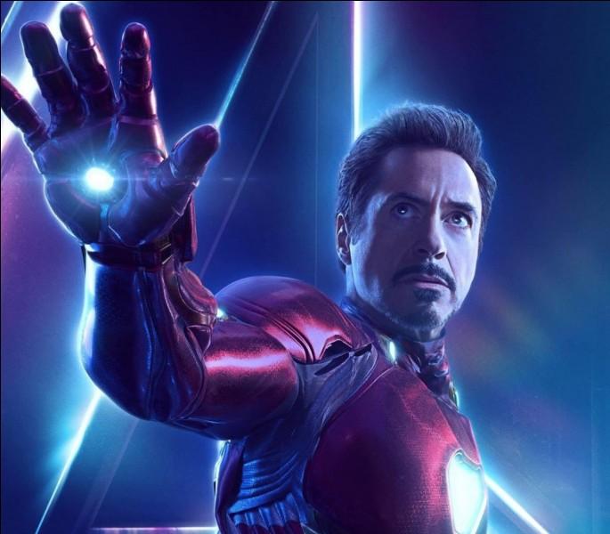 """Dans """"Avengers : Infinity War"""" (mon préféré), Tony Stark a mis au point une armure composée..."""