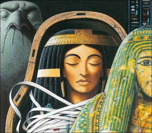 Gautier écrivait aussi des romans : comment s'appelle l'héroïne du 'Roman de la Momie' ?