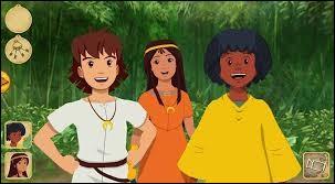 """Petit, tous les matins je regardais la mythique série d'animation """"Les Mystérieuses Cités d'or"""" avant d'aller à l'école. Vous rappelez-vous du trio des enfants principaux ?"""