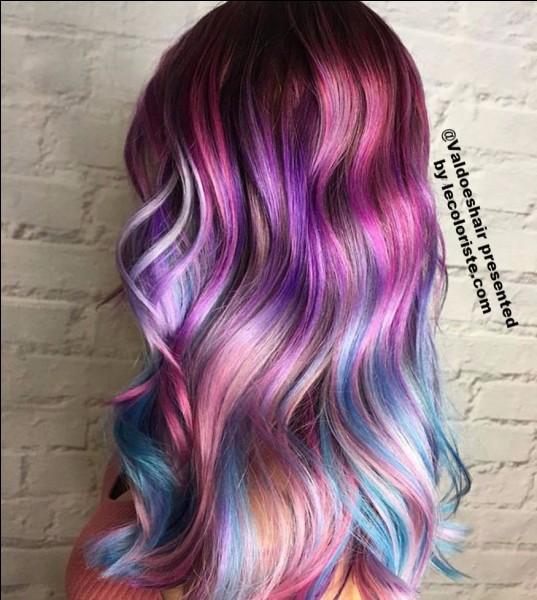 Quelle couleur de cheveux voudrais-tu ?