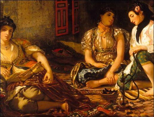 Comment l'Orient est-il souvent représenté dans la peinture ?